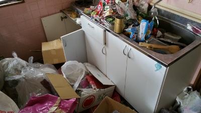 ゴミ屋敷キッチン