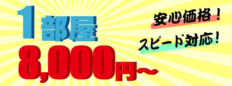 ゴミ屋敷一部屋25,000円~